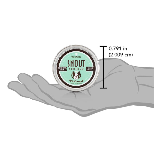 Snout Soother 2oz Tin (Natural Sunscreen SPF 9)
