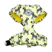 Yellow Zebra - Adjustable Harness