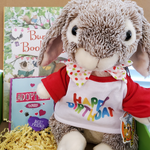 Book and Bear Birthday Box
