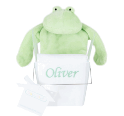 Personalized Tee Shirt and Flatofrog Cozy Gift Set