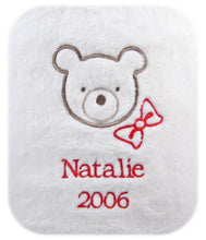 Personalized Baby's First Christmas Blanket