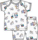 2 Piece Short PJ Print Set Boys
