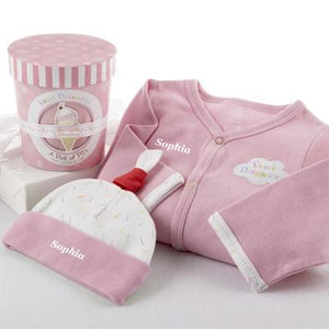 "Personalized ""Sweet Dreamzzz"" Strawberry Set"