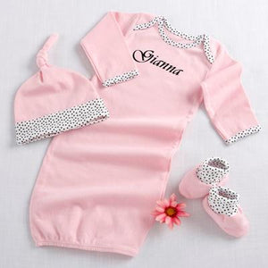 """Welcome Home Baby!"" 3-Piece Layette Set"