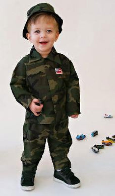 Baby Boy Soldier Costume