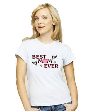 Best Mom Ever Fitted Tee