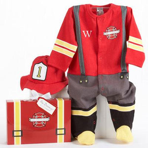 """Big Dreamzzz"" Baby Firefighter Layette Set Gift"