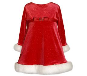 Bonnie Jean Christmas Holiday Dress