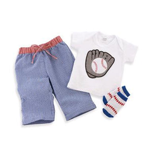 Boy Baseball 3 Piece Set