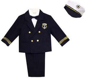 Captain Nelson 5 Piece Nautical Sailor Suit