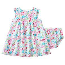 Carter's Floral Summer Dress Set