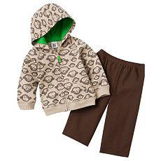 Carter's Monkey Hoodie Pants Set