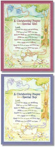 Christening Prayer Plaque