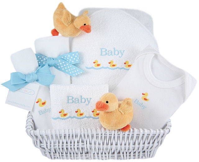 Just Ducky - Personalized Luxury Layette Basket