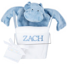 Personalized Tee Shirt And FlatoPotamus Cozy Gift Set