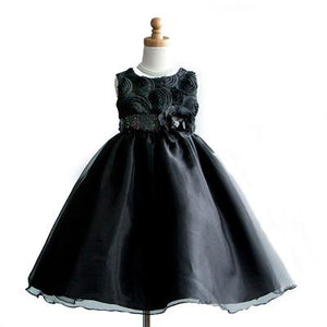 Girls Beautiful Flower Party Dress