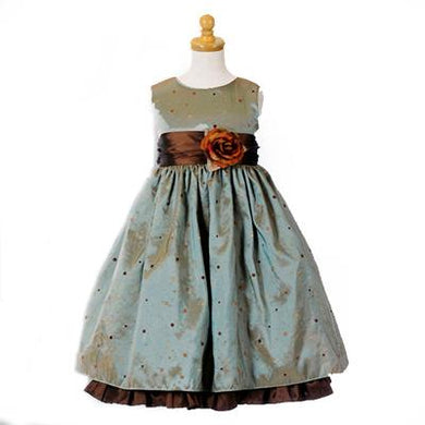 Girls Brown Special Occasion Dress