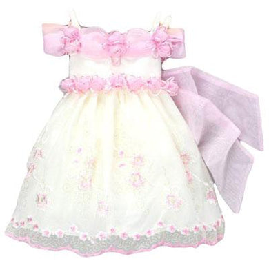 Girls Pink Special Occasion Dress