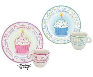 Happy Birthday Plate & Mug Gift Set
