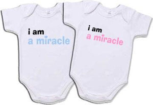 I'm A Miracle Creeper Set for Twins