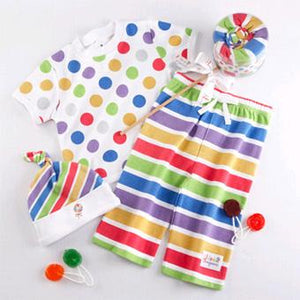 """Lollipop Loungewear"" Colorful Three-Piece Set"