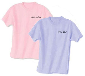 New Mommy & Daddy Tee Gift Set