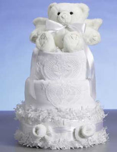 Original Angel Blanket Diaper Cake