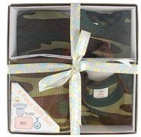 Personalized 4 Piece Camo Baby Gift Set