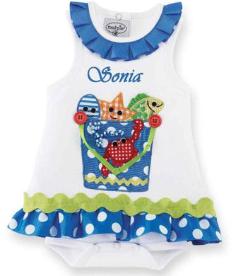 Personalized Boathouse All in One Dress