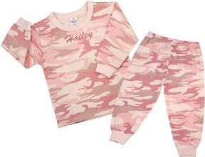 Personalized Camo Girls Two-Piece Set