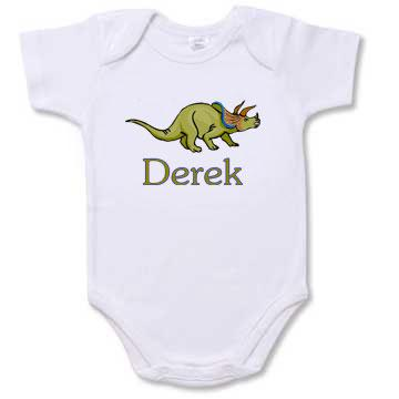 Personalized Dinosaur Creeper