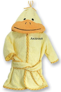 Personalized Duck Robe
