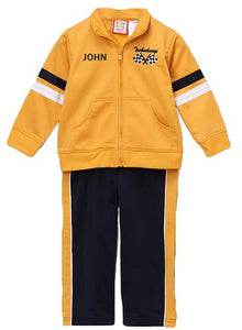 Personalized Gold Track Jacket & Pants