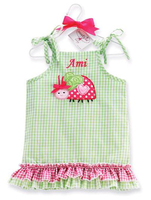 Personalized Lady Bug Dress