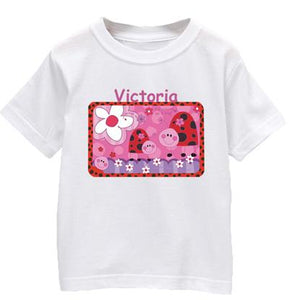 "Personalized ""Lady Bug"" T Shirt"
