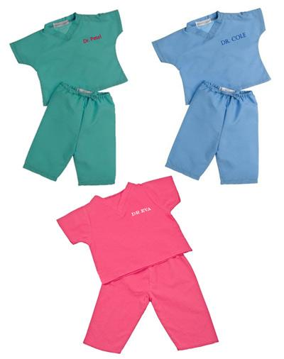 Personalized My First Scrubs Set