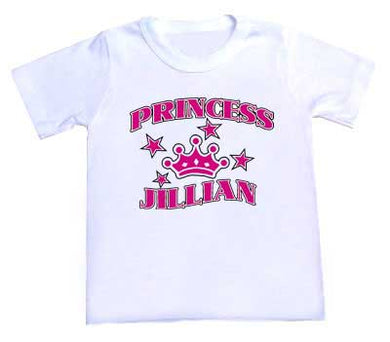 Personalized Princess Tee Shirt
