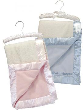 Personalized Satin Edged Baby Blanket