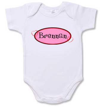 Personalized Sweetheart Infant Creeper
