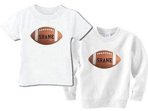 Personalized Tee for the Littlest Football Fan
