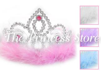 Princess Marabou Tiara Crown