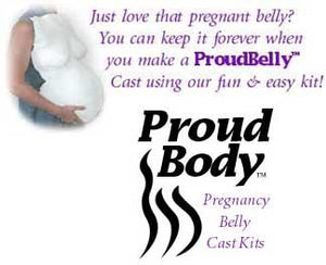 Proud Body Belly Cast Kit for Pregnant Moms