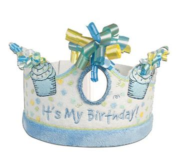 Happy Birthday Crown for Boys
