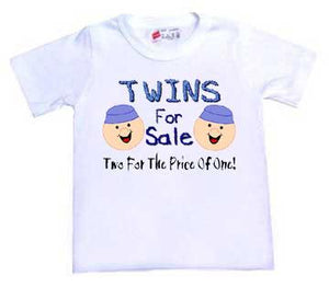 """Twins For Sale"" T-Shirt"