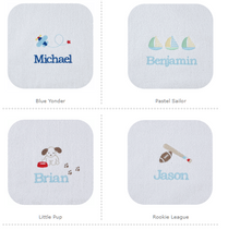 Boy's Personalized Terry Bib