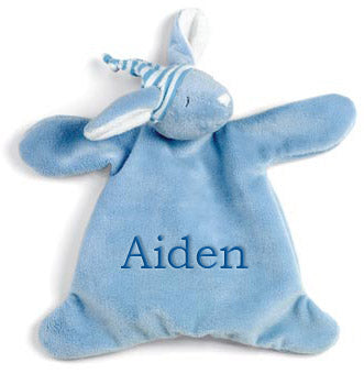 Personalized Sleepyhead Blue Bunny Cozy
