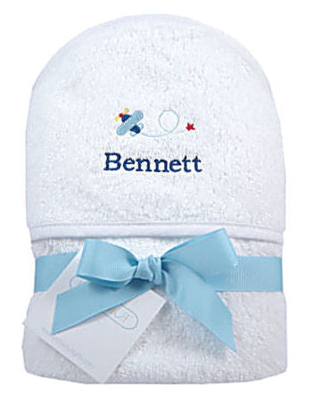 Boy's Personalized Hooded Towel
