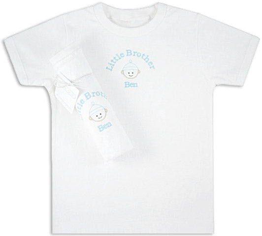 Monogrammed Little Brother Tee Shirt