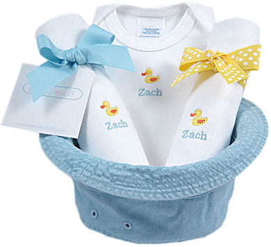Just Ducky - Personalized Bucket Hat Gift Set