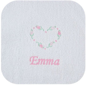 Girls' Personalized Hooded Towel